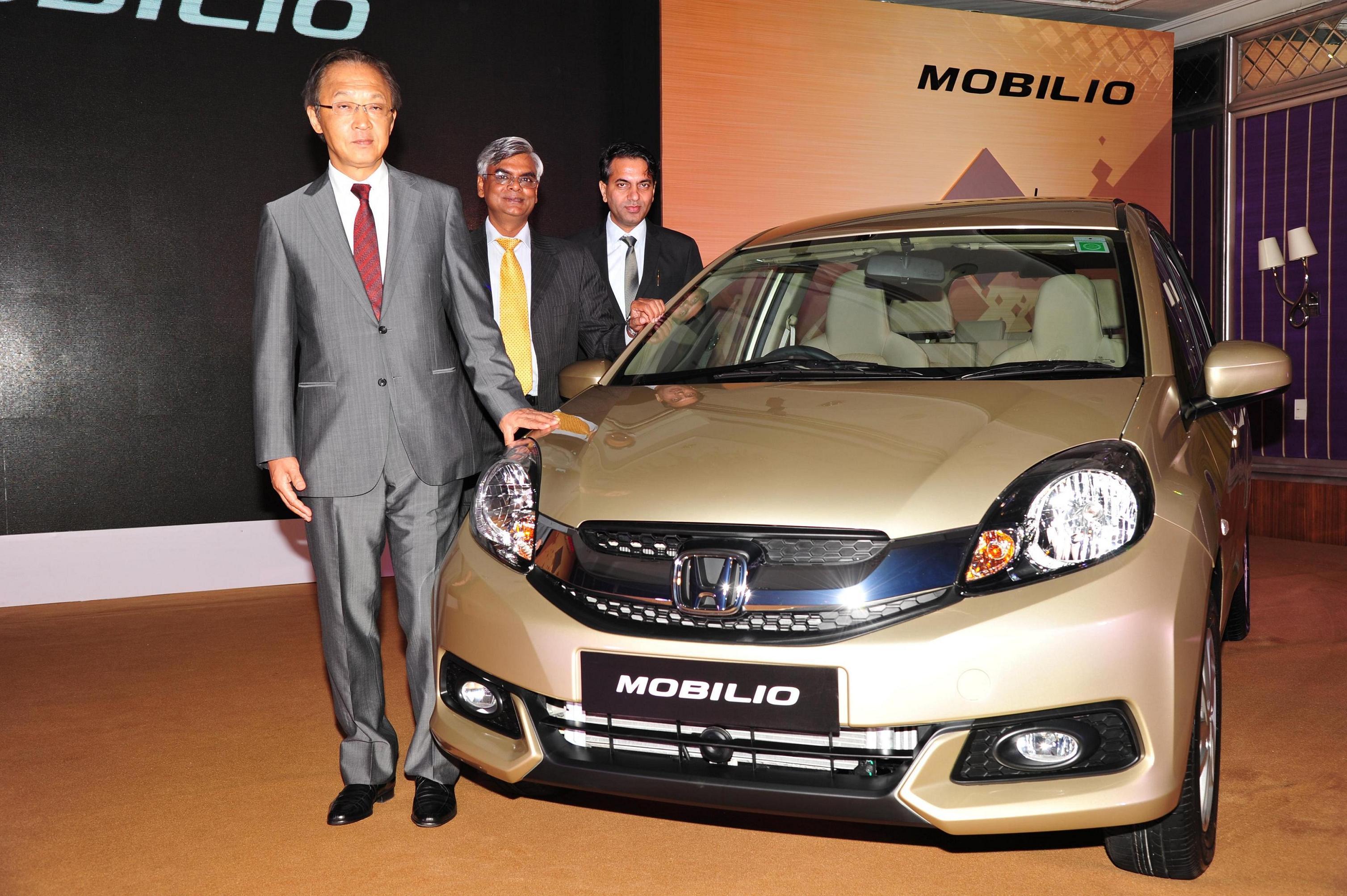 new car launches of 2014Honda Cars India launches midsize stylish 7seater MPV Honda