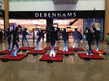 MJ Dance Moves near Debenhams