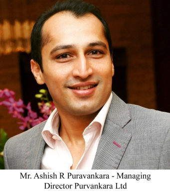 Mr. Ashish R Puravankara - Managing Director Purvankara Ltd
